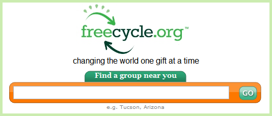 freecycle network segunda mano
